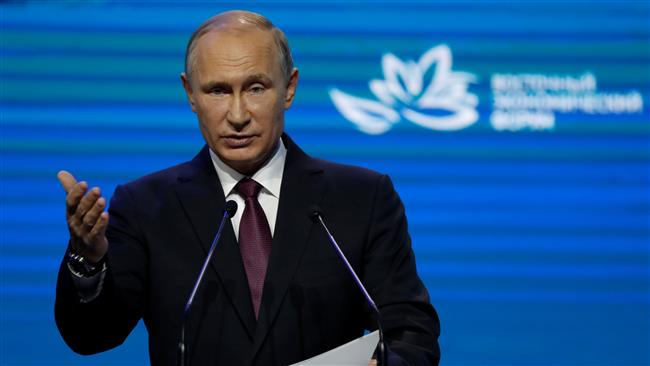 Russian President Vladimir Putin suggests North Korea will not give up its nuclear weapons program