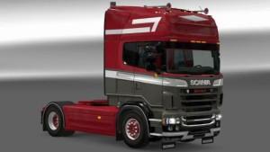 Scania RJL Danmark Style skin mod by Catalin