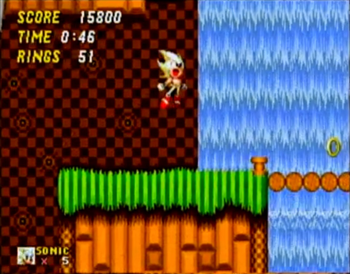 Super Sonic, Sonic the Hedgehog 2, Sonic the Hedgehog 2 rom, why super sonic was special, Sonic for Sega Genesis