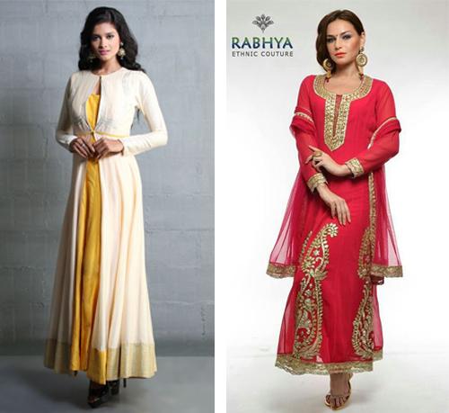 model baju gamis sari india