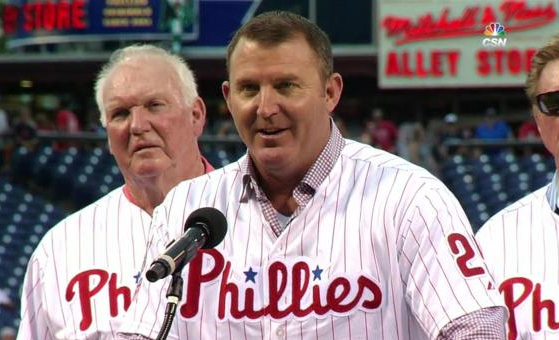 Jim Thome honored by the Phillies and Wall of Fame