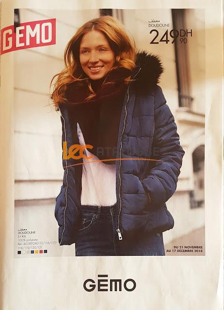catalogue gemo maroc novembre decembre 2018