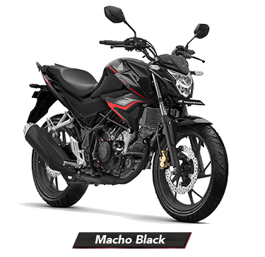 New CB150R Macho Black Honda Sejahtera Mulia CIrebon JAwa Barat
