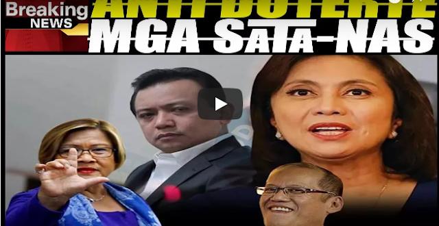 Lahat Ng Ayaw Kay PRRD Ay Sat-Tan-Nas!