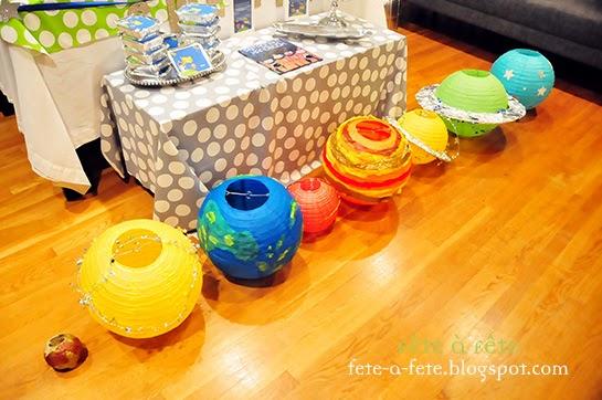Fête à Fête: Astronaut Party - Preparing to take off on a ...