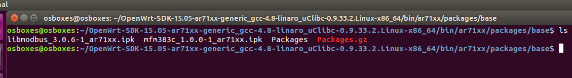 Electronics FAQ: Cross compile  ipk including lib