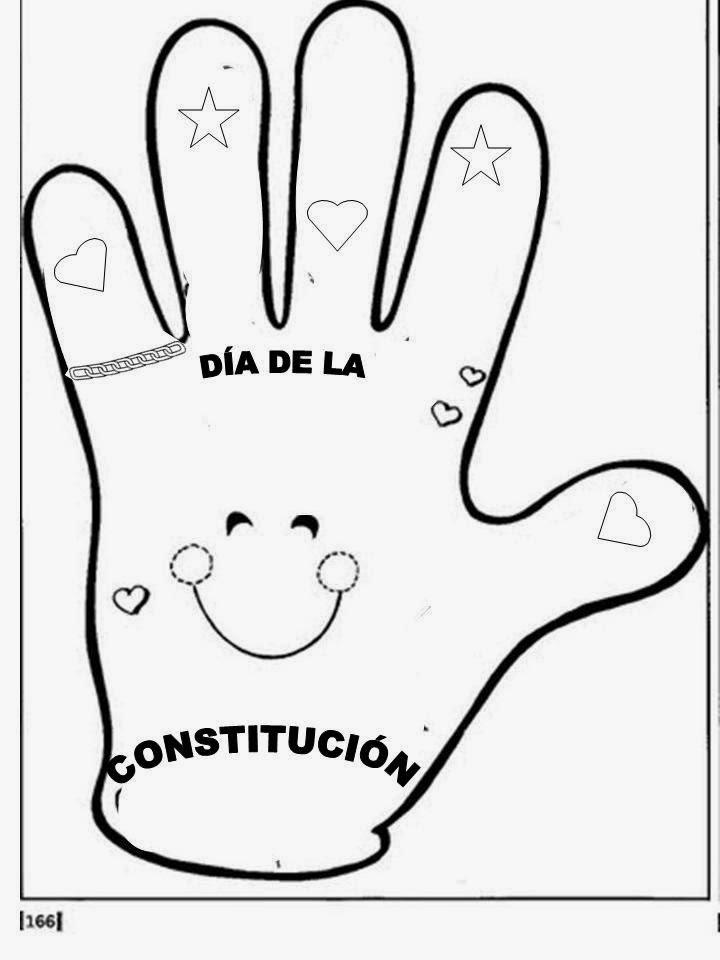 Maestra de Primaria: La Constitución Española para niños
