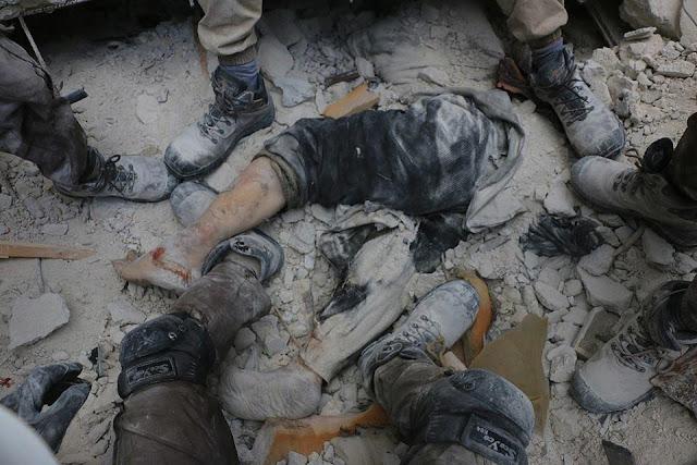 Koalisi Syiah Jahannam Bantai Warga Sipil Aleppo