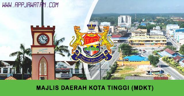 Jawatan Kosong di Majlis Daerah Kota Tinggi (MDKT).