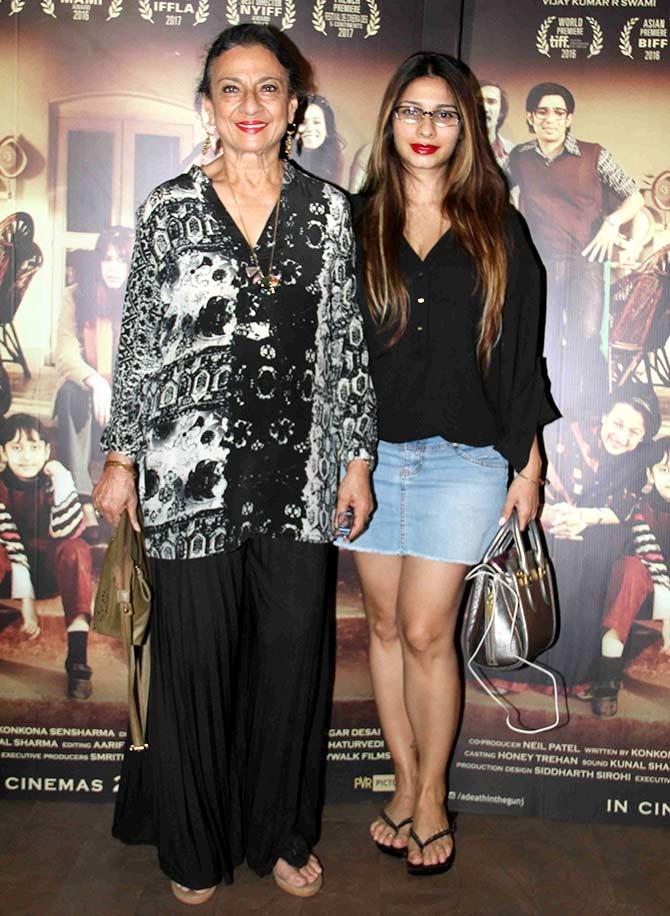 Celebs at Konkona Sen Sharma's A Death In The Gunj Screening Stills