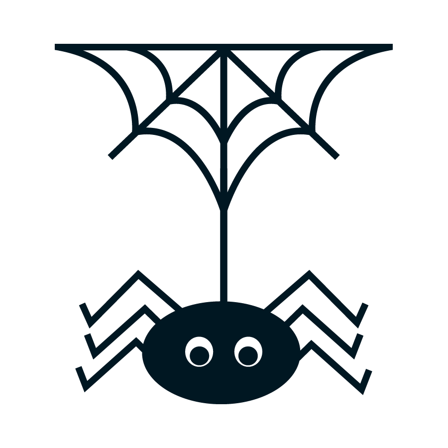 Halloween Spiders Clipart. - Oh My Fiesta! in english