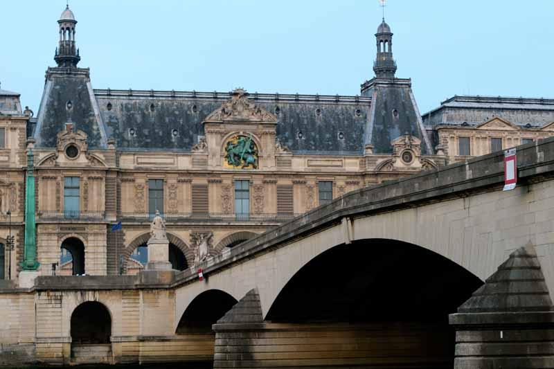 Seine bridge, Paris