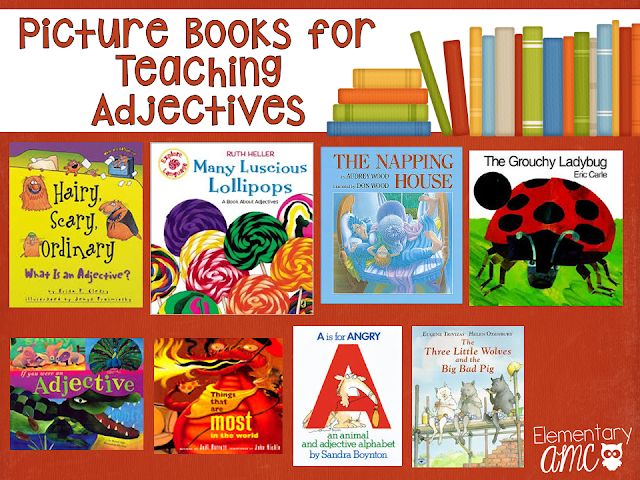 picture books for teaching adjectives