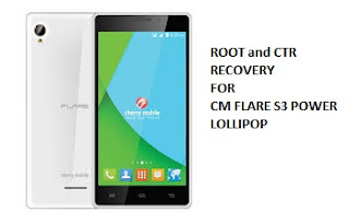 CM Flare S3 Power Lollipop Root and CTR