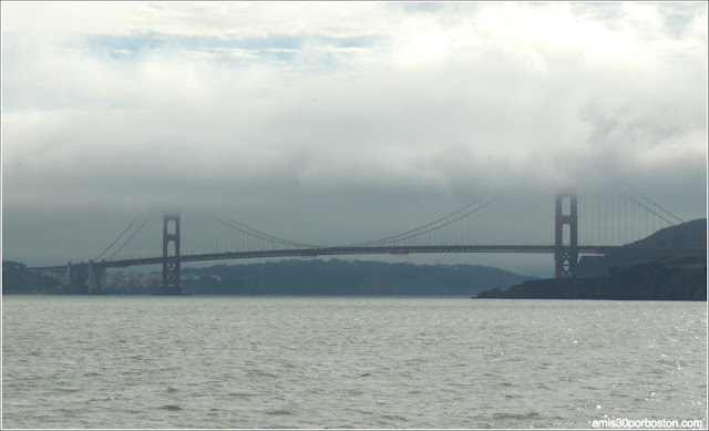 Golden Gate Bridge desde el Ferry