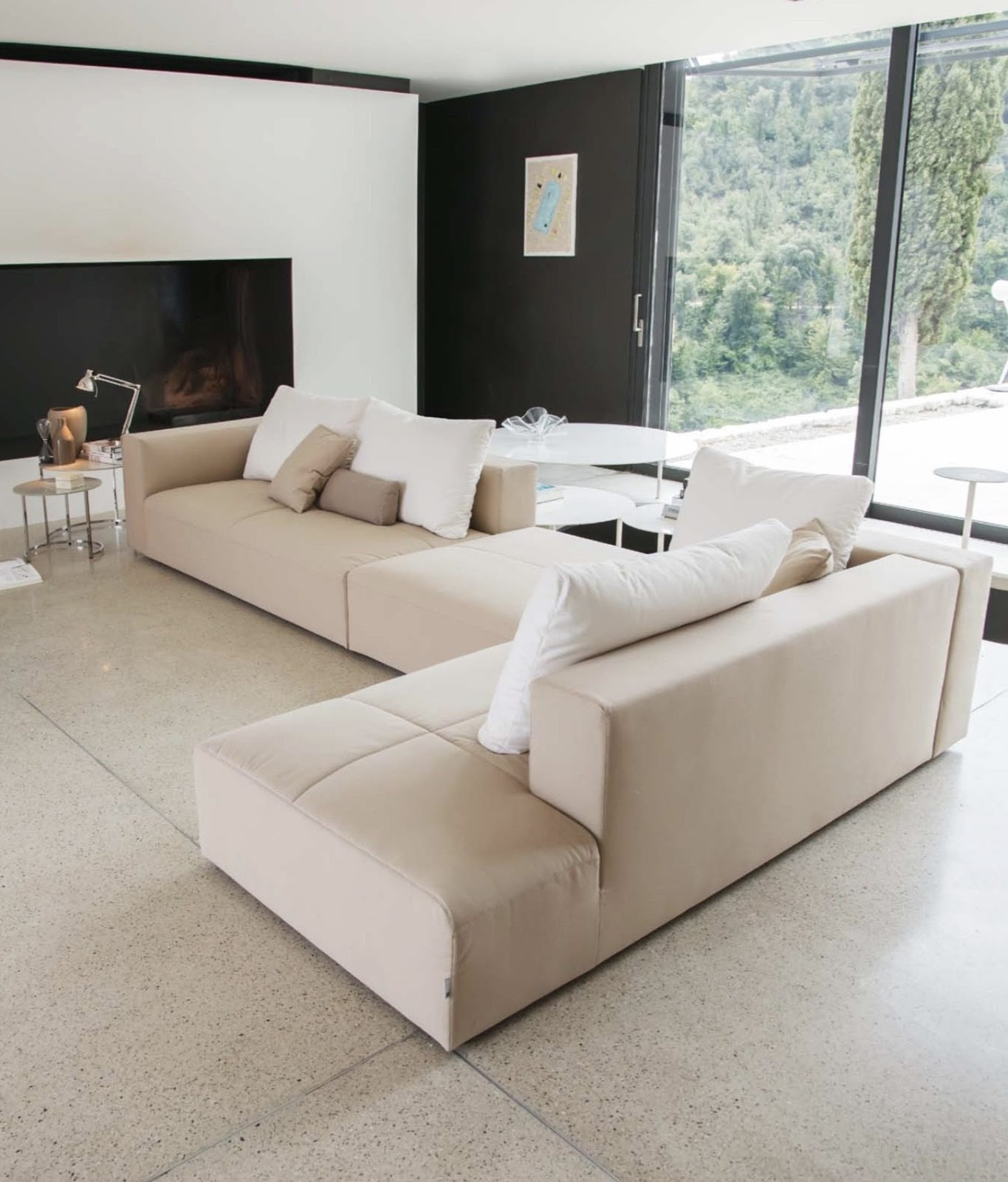 Down Filled Sectional Sofas