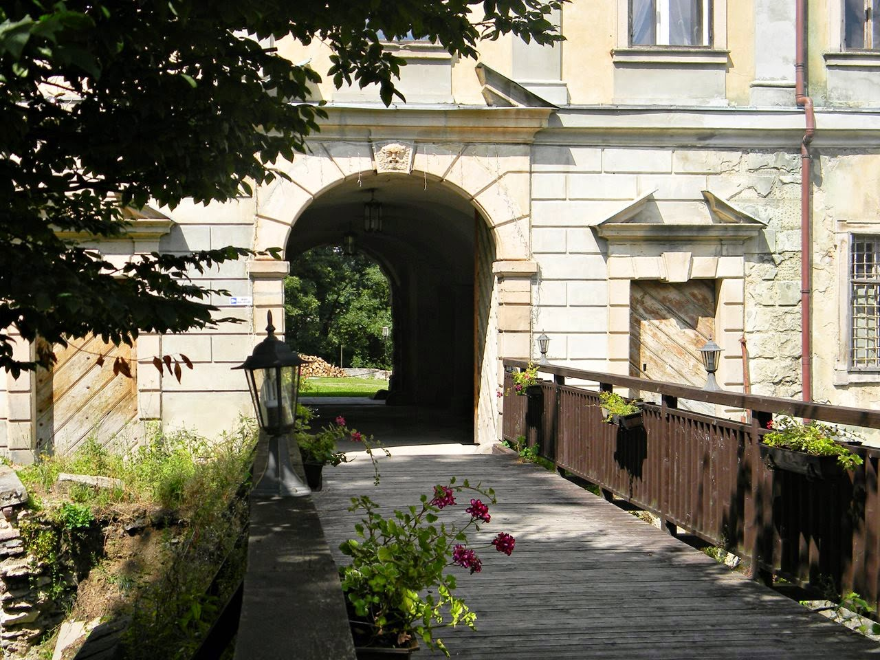 zamek, Międzylesie