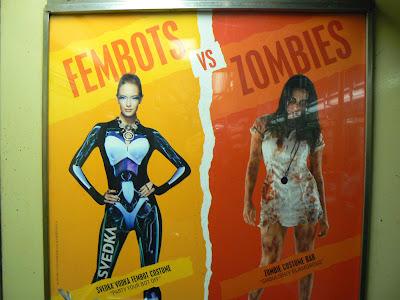 Fembot Vs. Sexy Zombie