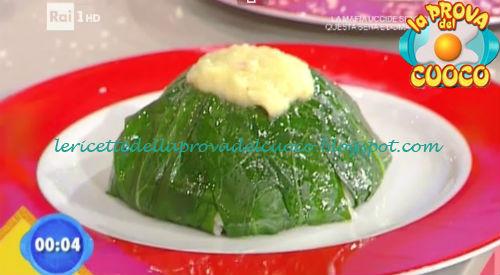 Insalatina di riso basmati salame d'oca e bietolina con cipolline ricetta Marretti da Prova del Cuoco