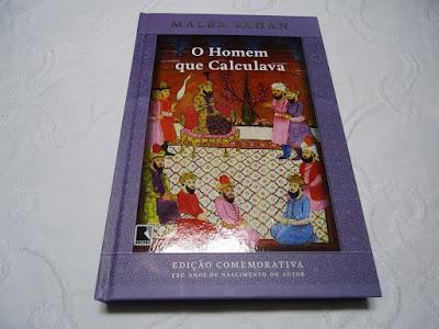 """Livro """"O Homem que Calculava"""", de Malba Tahan"""