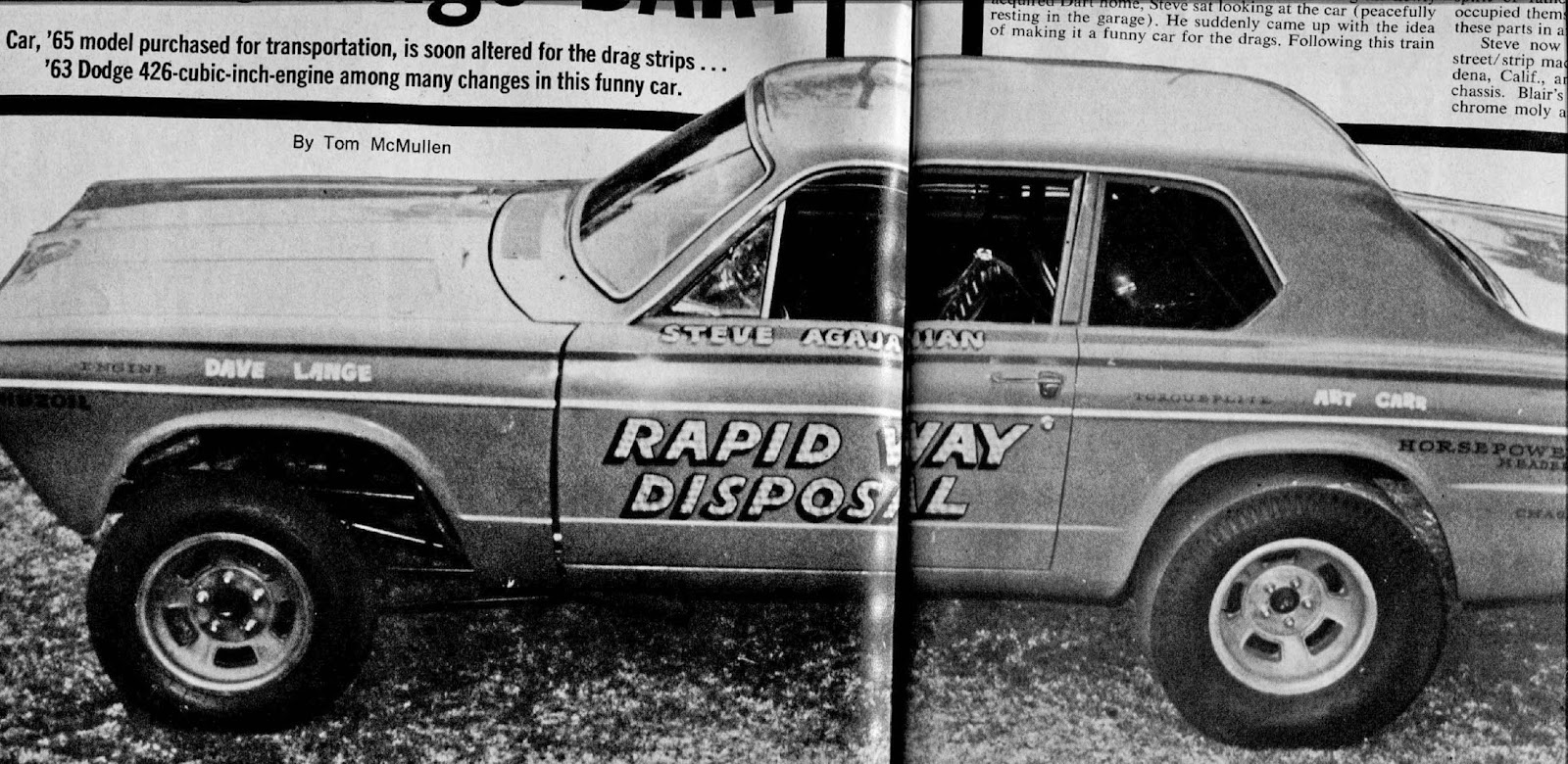 The Daily Drag -- 1960s super stock and F/X racing