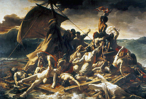 The Raft of the Medusa by Théodore Géricault, 1818-19