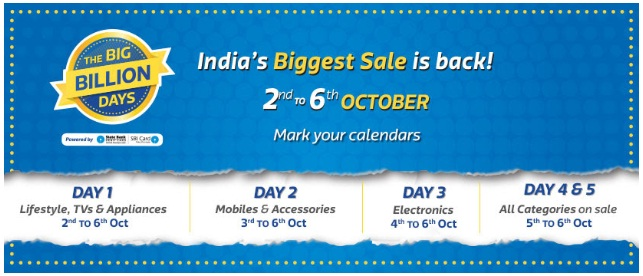 India's Biggest Sale on flipkart