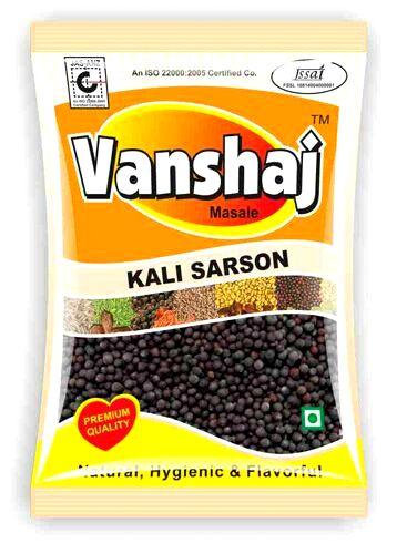 Black Mustard Seeds ( Kali Sarson ) image of Vanshaj Spices.com