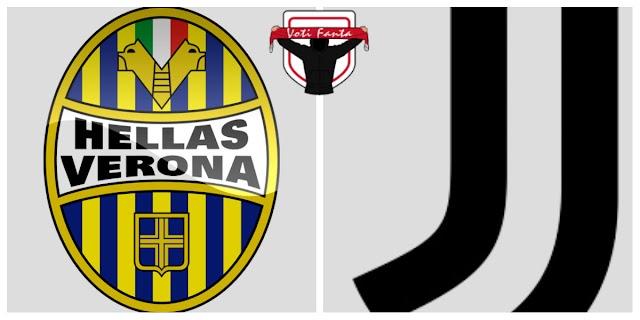 Verona Juventus 1-3 tabellino