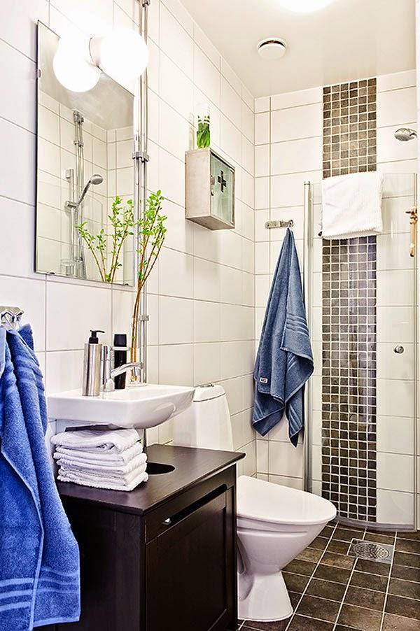 residential interior design Banheiro do apartamento