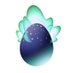 Appearance of Boreal Dragon when egg