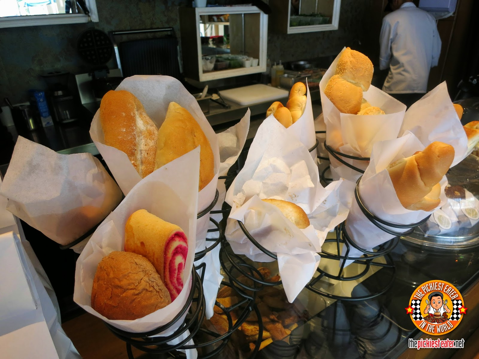 bouquets of bread