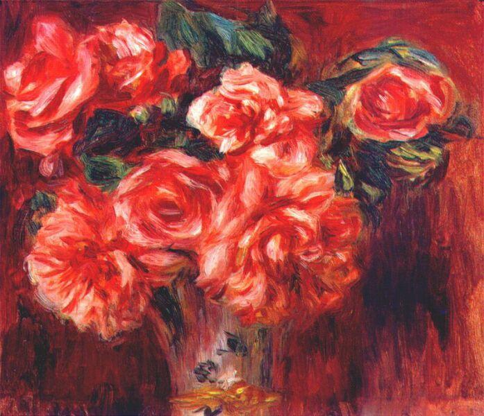 Pierre-Auguste Renoir, Liebe, Valentinstag, leben und leben lassen, Toleranz, Kompromisse, Gefühle, paintings, malerei, bild, poetische Art, mit ecken und kanten jemanden lieben, beziehung, partnerschaft