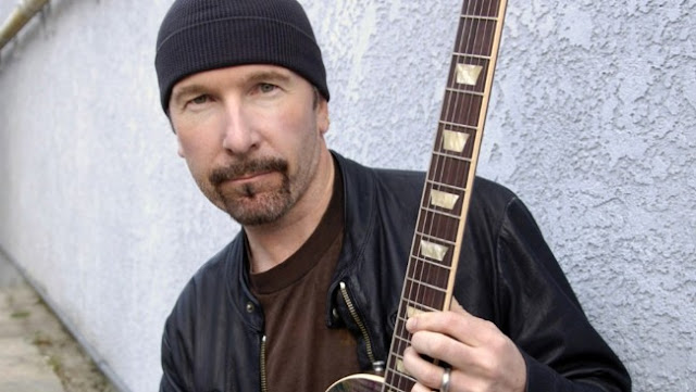 What U2 lyrics does The Edge sing?