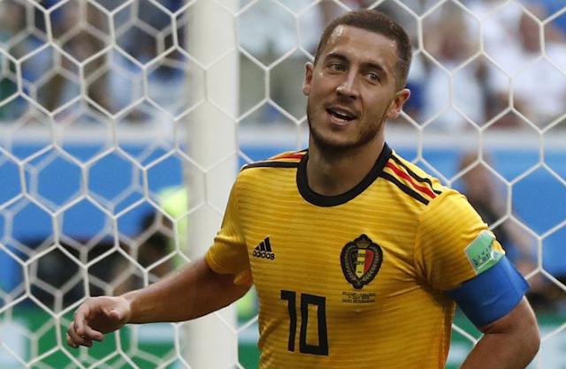 Video Highlight Belgia vs Inggris:  Hazard Boyong Juara Ketiga untuk Negaranya