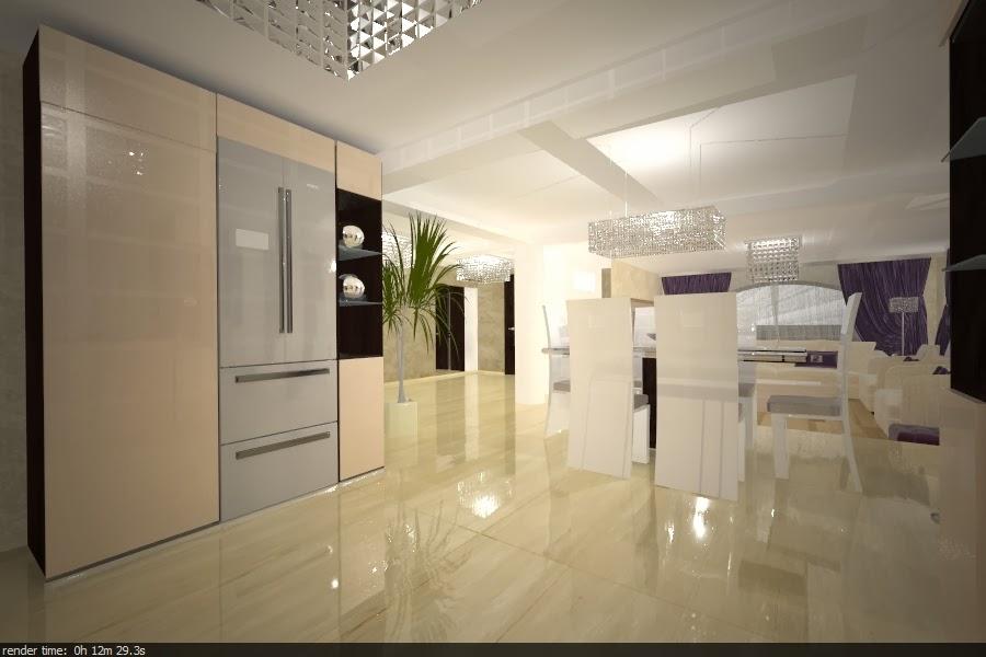 design interior bucatarie moderna