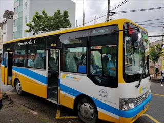 Lịch hoạt động tuyến xe buýt nội thành Đà Nẵng