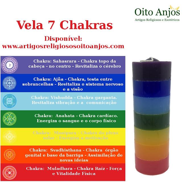 Vela 7 Chakras