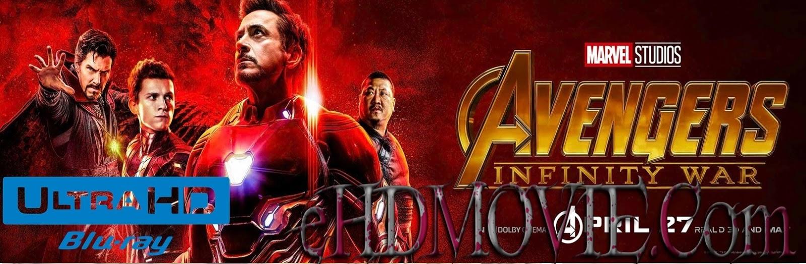 Avengers: Infinity War 2018 Full Movie Dual Audio [Hindi – English] 2160p - 1080p - 720p - HEVC - 480p ORG BRRip 250MB - 400MB - 1.1GB - 4.2GB - 5.6GB ESubs Free Download