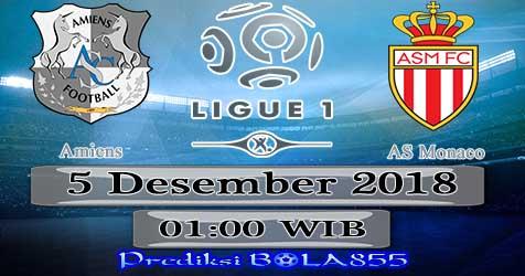 Prediksi Bola855 Amiens vs AS Monaco 5 Desember 2018