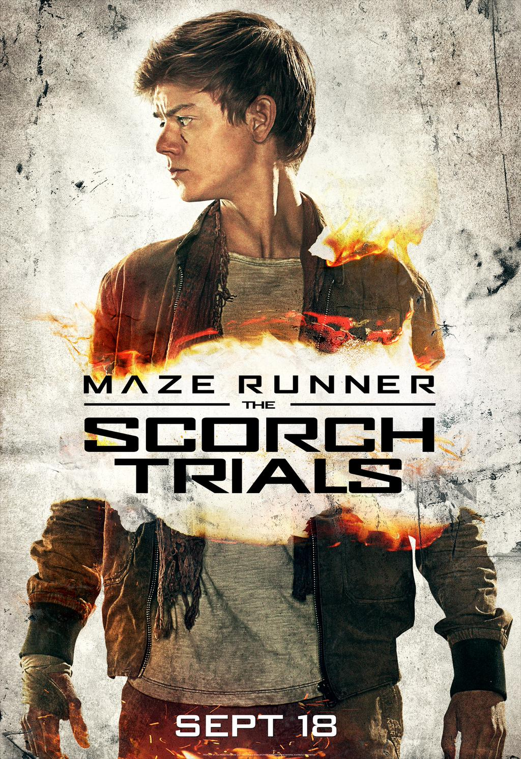 Maze Runner: The Scorch Trials (Newt)