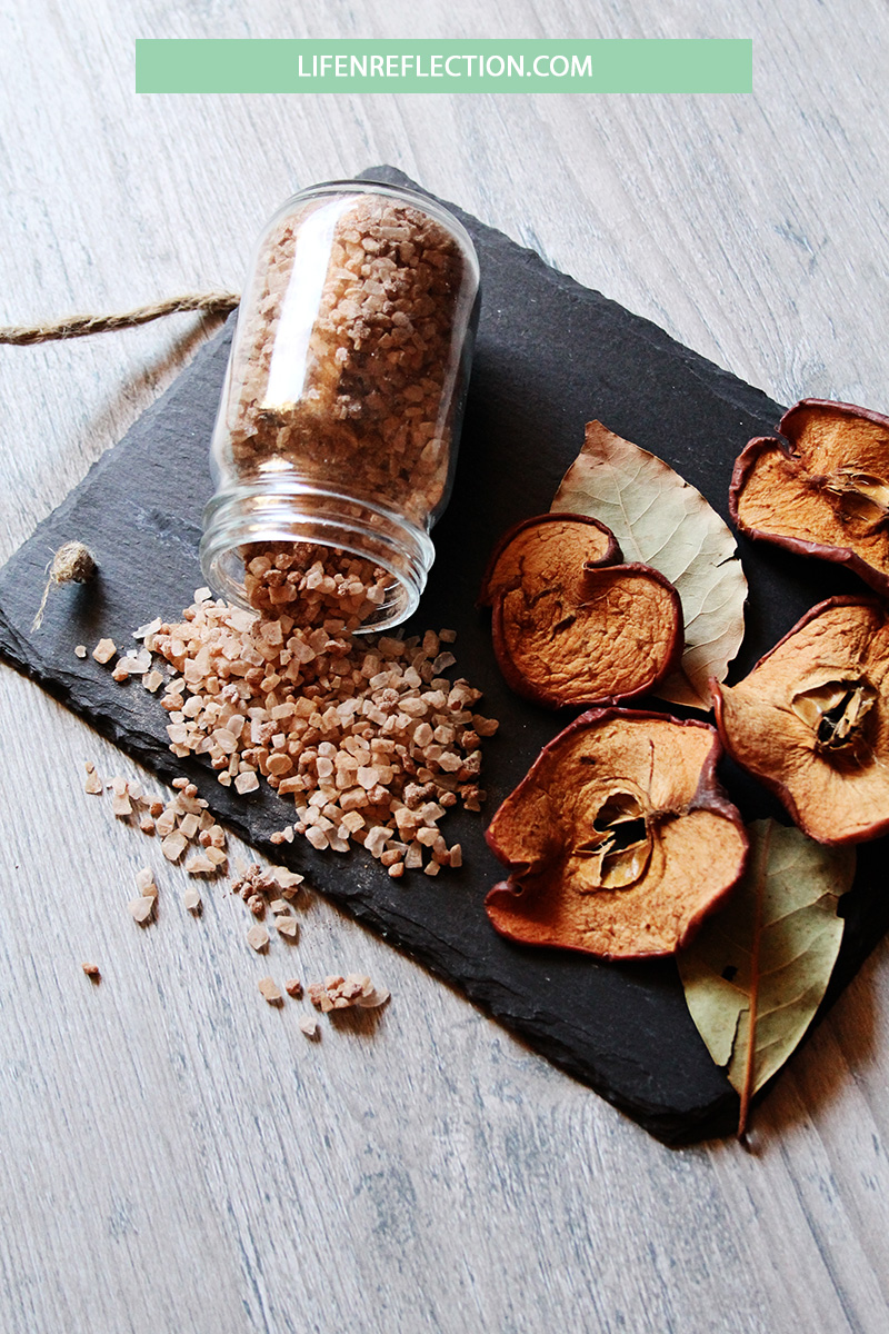 Make Baked Apple Bath Salts