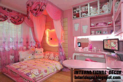 Teen Girls Bedroom Romantic Ideas 2013