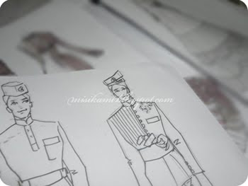 Lukisan Baju Pengantin Lelaki Brad Erva Doce Info