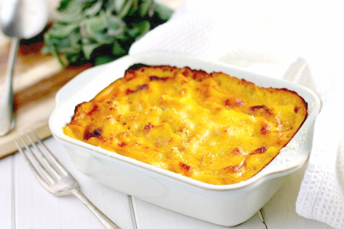 Roast Butternut Squash Macaroni Cheese