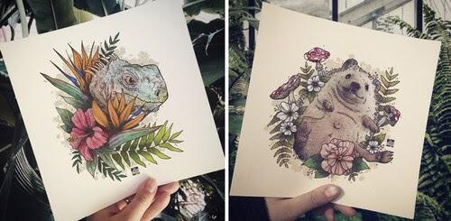00-elvenwings-Animal-Portraits-www-designstack-co