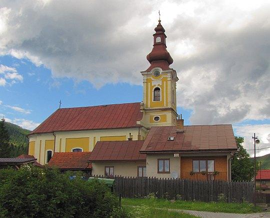 Kościół grekokatolicki pw. Trójcy Przenajświętszej w Telgárt (węg. Garamfő, niem. Tiergarten).