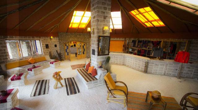 Salt Hotel Luna Salada, Bolivia