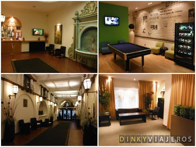 Hotel Siru. Zonas comunes