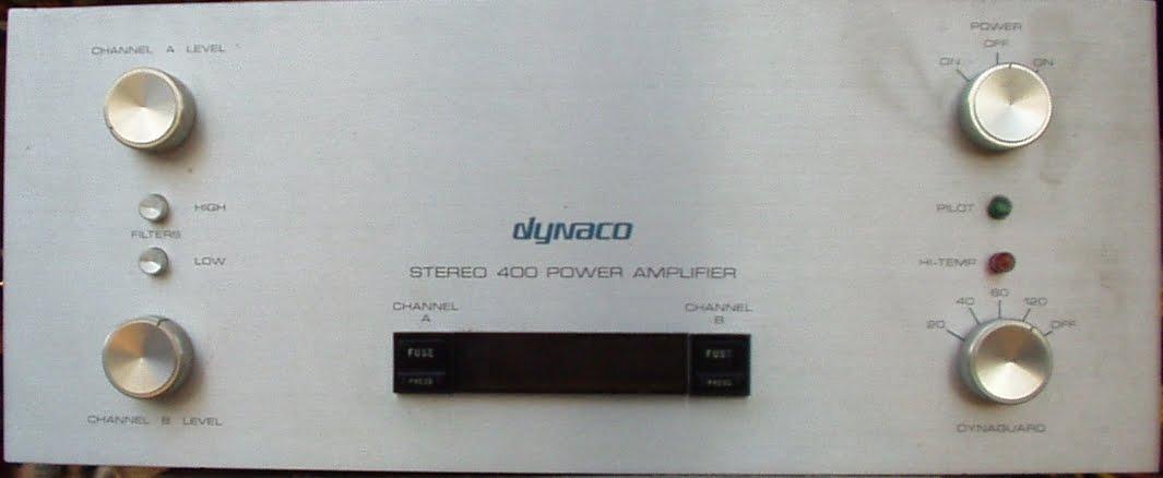Dynaco Stereo 400 Power Amplifier - Dead Channel Fix - Dynaco